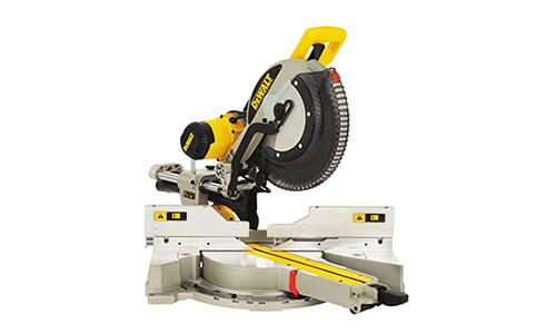 Best Sliding Compound Miter Saw And the award for best sliding compound miter saw goes to the DEWALT DWS780.