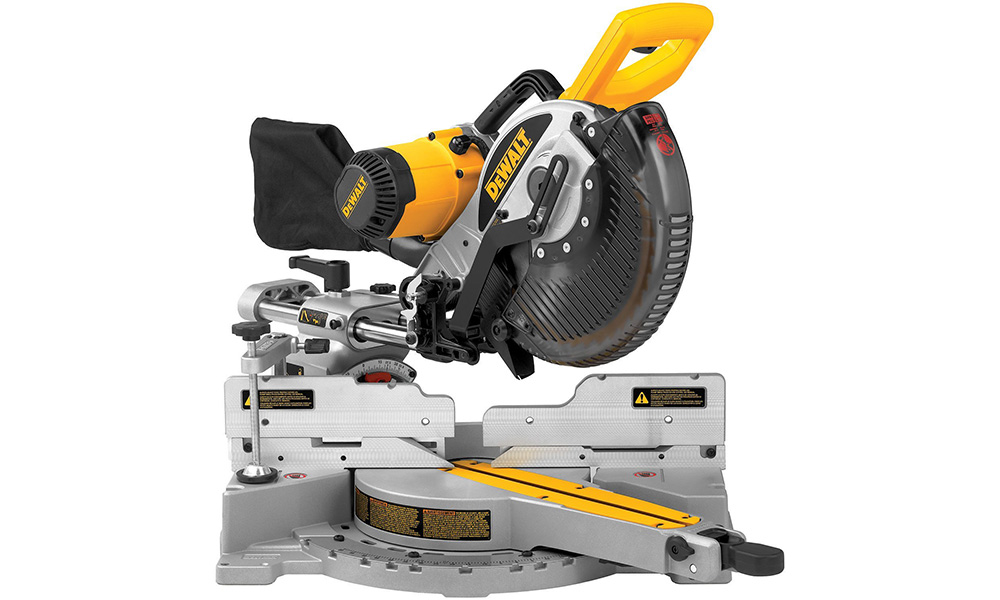 Dewalt dw717 10 inch sliding compound miter saw review dw717 greentooth Image collections
