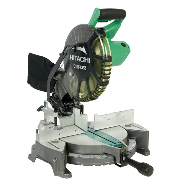What to buy a 10 inch or a 12 inch miter saw 10 inch miter saw hitachi c12rsh greentooth Image collections